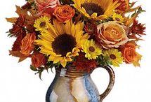 Fabulous Fall Flowers / #TheFlowerCart #Baltimore