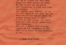 Poetry / by Laura Kawleski