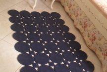 chodniki, dywany