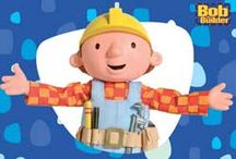 Art Cartoons Bob The Builder / by Monica Bourne