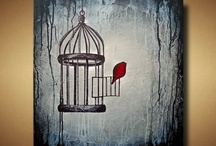 The bird out of the birdcage / by Louise Griffiths