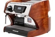 La Spaziale Dream T Espresso Machine / The gorgeous La Spaziale Dream T espresso machine is available in red, black and with wooden side panels. There are four wood side panel options to choose from. Request best price for best price.
