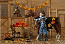 Model Horse (Breyer, Schleich, other): Halloween / Пока что фотографий на тему Хэллоуина у меня не много, но, надеюсь, их будет больше.