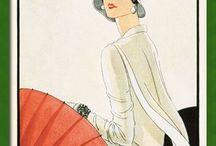 Copertine moda d'epoca