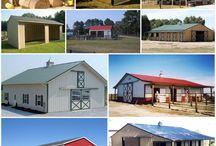 Carports, Horse sheds