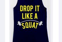 Workout Shirts / Cute workout shirts / by Michelle Brooklyn
