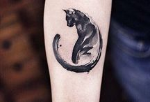 Katt tatueringar