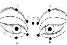 Faire de l'exercice yeux