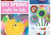 Spring Crafts & Activities
