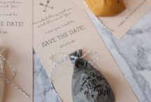 Wedding invites, asks, save the dates eg. stationary!