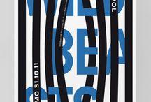 Typography - Vertical Lines