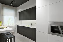 kitchen / interior, kitchen, architekture