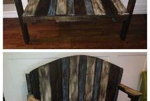Recycled & Repurposed furniture