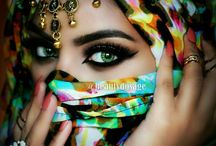 Fashion - Indian, Hindu, Arabian Woman