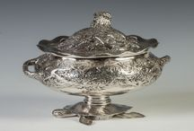 Fine Silver Antiques / Decorative fine sterling silver
