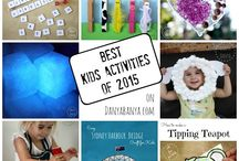 [Kids Activities] / Fun activities for kids that aren't too hard for moms to actually do. Learning activities, kids crafts, and all fun kid stuff!