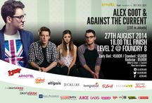 SPARKS Project - Ignite Your Creativity / JECREARE Creative Consultants presents SPARKS Project - Ignite Your Creativity Series 1. Alex Goot & Against the Current Feat. Chrissy Costanza for Educational Sharing Session & Live Performance in Jakarta, Indonesia!