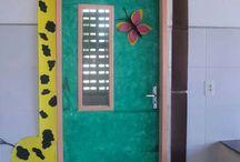 Portas decoradas