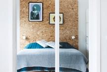 | BEDROOM | / Indretning af soveværelse  Senge Lamper Opbevaring Sengebord
