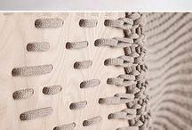 wooden Textil