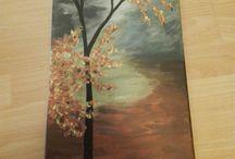 Fa festmény