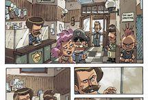 Comic Footage