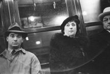 NY subway late 30s / Walker Evans' photos. Everyday faces