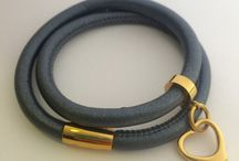 allure style - leather wrap braclets