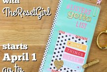 """#ListersGottaList / Corey aka """"theresetgirl"""" started this challenge and it is so fun."""