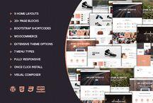 Thèmes WordPress votre site / Sélection de thèmes WordPress à télécharger pour créer votre propre site professionnel.