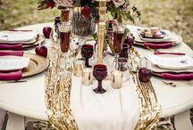 Gold wedding inspiration / Gold wedding inspiration