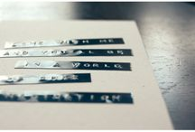 Labels / by Gina M.