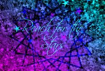 Galactic Dreaming / For the love of a good ol' cosmic space galaxy print or pattern! Galactic stars, constellations, milky way swirls, nebula, planets in orbit, and SPARKLE!