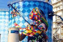 street art. eduardo kobra