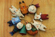 Плоские куколки