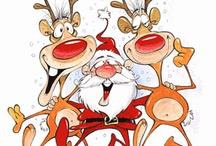 Christmas Cartoons /  LIKE MY WEBSITE