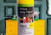 Spray Esmalte Acrílico Passol / Colores y aplicaciones