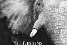 My Art / New endeavor for PJH Designs. Sharing my artwork.