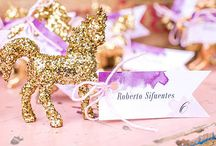 Unicorn themed wedding party / If you're looking for a whimsical, different, wedding theme then look no further. This unicorn wedding theme is definitely a fun, exciting theme and we have some products which would fit perfectly with the theme.