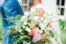 Navy blush and gold wedding inspiration