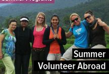 Summer Volunteer Programs Abroad / Join Summer Volunteer Abroad Programs with Volunteering Solutions in India, Nepal, Ghana, Thailand, Peru and Israel.  http://www.volunteeringsolutions.com/summer-volunteer-abroad / by Volunteering Solutions