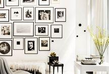 CUADROS EN PAREDES / Inspiración de cómo decorar las paredes de tu casa con cuadros y otros objetos