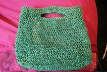 Crochet / Crochet shopping bags