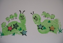 Hand/Foot Print Ideas for kids