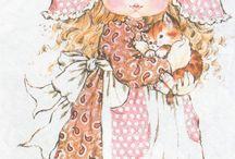 SARAH KAY Colección Cards Illustration