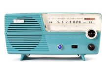 Turquoise Radios & Televisions & Pickups
