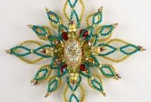Hvězdy z korálků - inspirace