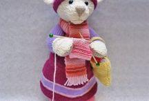 Knit,Crochet & Fiber Arts
