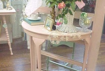 Shabby Chic in Pink / Vintage Shabby Chic Home Decor in Pink on Ruby Lane  / by All Things Beautiful
