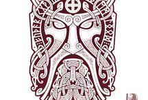 vikings tattoo warrior